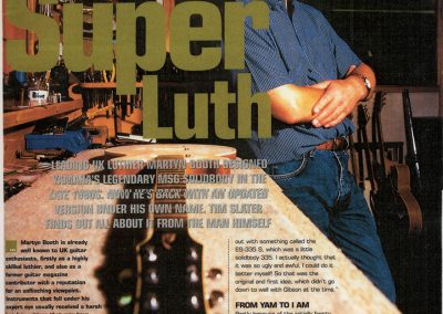 Super Luth – Guitar Buyer Magazine